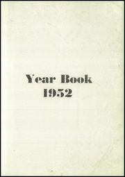 Page 3, 1952 Edition, Baltic High School - Hilltopper Yearbook (Baltic, OH) online yearbook collection
