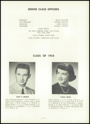 Page 13, 1958 Edition, Baltic High School - Hilltopper Yearbook (Baltic, OH) online yearbook collection