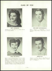 Page 16, 1958 Edition, Baltic High School - Hilltopper Yearbook (Baltic, OH) online yearbook collection