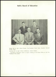 Page 8, 1958 Edition, Baltic High School - Hilltopper Yearbook (Baltic, OH) online yearbook collection
