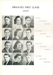 Page 14, 1942 Edition, Convoy Union High School - Bellerophon Yearbook (Convoy, OH) online yearbook collection