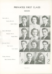 Page 15, 1942 Edition, Convoy Union High School - Bellerophon Yearbook (Convoy, OH) online yearbook collection