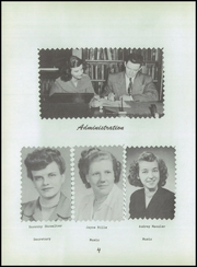 Page 8, 1951 Edition, Augusta High School - Victorian Yearbook (Augusta, OH) online yearbook collection