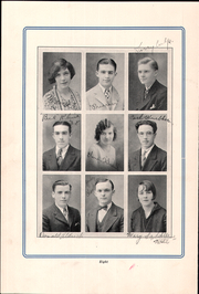 Page 12, 1928 Edition, Parkview High School - Bay Blue Book Yearbook (Bay Village, OH) online yearbook collection
