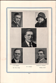 Page 6, 1928 Edition, Parkview High School - Bay Blue Book Yearbook (Bay Village, OH) online yearbook collection