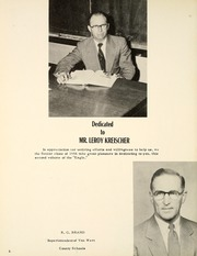 Page 10, 1956 Edition, Wren High School - Eagle Yearbook (Wren, OH) online yearbook collection