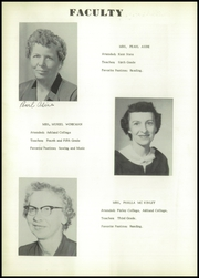 Page 12, 1956 Edition, Polk High School - Memorabilia Yearbook (Polk, OH) online yearbook collection