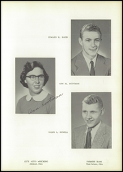 Page 17, 1956 Edition, Polk High School - Memorabilia Yearbook (Polk, OH) online yearbook collection