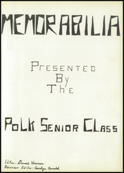 Page 5, 1956 Edition, Polk High School - Memorabilia Yearbook (Polk, OH) online yearbook collection
