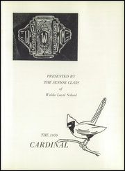 Page 5, 1959 Edition, Waldo High School - Cardinal Yearbook (Waldo, OH) online yearbook collection