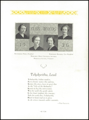 Page 19, 1936 Edition, Regina High School - Regina Ancile Yearbook (Norwood, OH) online yearbook collection