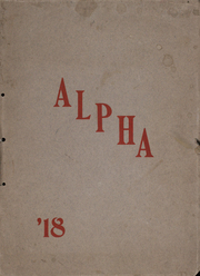 1918 Edition, Sterling High School - Alpha Yearbook (Sterling, OH)
