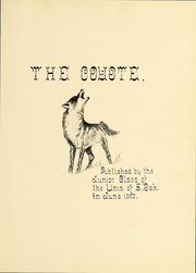 Page 6, 1903 Edition, University of South Dakota - Coyote Yearbook (Vermillion, SD) online yearbook collection