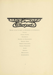 Page 8, 1903 Edition, University of South Dakota - Coyote Yearbook (Vermillion, SD) online yearbook collection