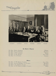 Page 7, 1918 Edition, University of South Dakota - Coyote Yearbook (Vermillion, SD) online yearbook collection