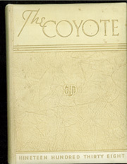 1938 Edition, University of South Dakota - Coyote Yearbook (Vermillion, SD)