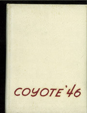 1946 Edition, University of South Dakota - Coyote Yearbook (Vermillion, SD)