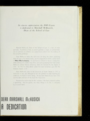 Page 9, 1949 Edition, University of South Dakota - Coyote Yearbook (Vermillion, SD) online yearbook collection