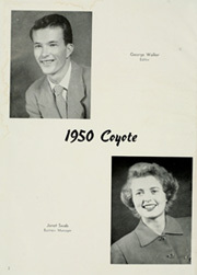 Page 6, 1950 Edition, University of South Dakota - Coyote Yearbook (Vermillion, SD) online yearbook collection