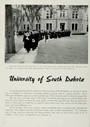 Page 8, 1950 Edition, University of South Dakota - Coyote Yearbook (Vermillion, SD) online yearbook collection