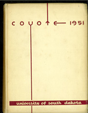 1951 Edition, University of South Dakota - Coyote Yearbook (Vermillion, SD)