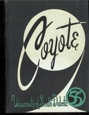 1955 Edition, University of South Dakota - Coyote Yearbook (Vermillion, SD)