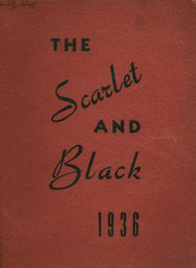 1936 Edition, Point Place High School - Scarlet and Black Yearbook (Toledo, OH)