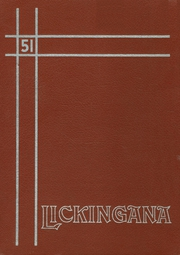 1951 Edition, Licking County High School - Lickingana Yearbook (Licking, OH)