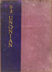 Page 1, 1903 Edition, Mount Union College - Unonian Yearbook (Alliance, OH) online yearbook collection