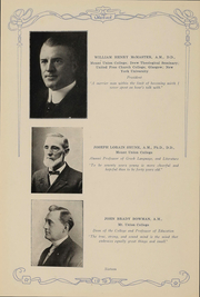 Page 15, 1919 Edition, Mount Union College - Unonian Yearbook (Alliance, OH) online yearbook collection