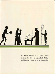 Page 11, 1934 Edition, Mount Union College - Unonian Yearbook (Alliance, OH) online yearbook collection