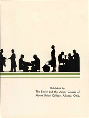 Page 9, 1934 Edition, Mount Union College - Unonian Yearbook (Alliance, OH) online yearbook collection