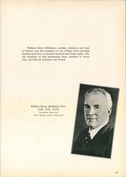 Page 11, 1940 Edition, Mount Union College - Unonian Yearbook (Alliance, OH) online yearbook collection