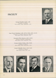Page 12, 1940 Edition, Mount Union College - Unonian Yearbook (Alliance, OH) online yearbook collection