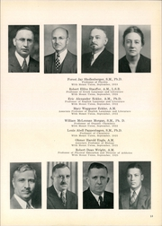 Page 13, 1940 Edition, Mount Union College - Unonian Yearbook (Alliance, OH) online yearbook collection