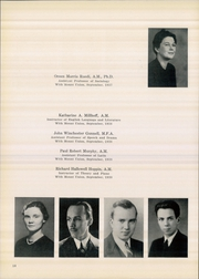 Page 16, 1940 Edition, Mount Union College - Unonian Yearbook (Alliance, OH) online yearbook collection