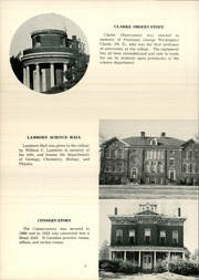 Page 12, 1954 Edition, Mount Union College - Unonian Yearbook (Alliance, OH) online yearbook collection