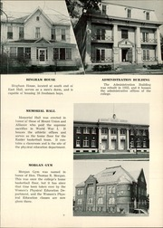 Page 13, 1954 Edition, Mount Union College - Unonian Yearbook (Alliance, OH) online yearbook collection