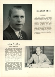 Page 16, 1954 Edition, Mount Union College - Unonian Yearbook (Alliance, OH) online yearbook collection