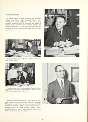 Page 13, 1961 Edition, Mount Union College - Unonian Yearbook (Alliance, OH) online yearbook collection