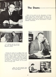 Page 14, 1961 Edition, Mount Union College - Unonian Yearbook (Alliance, OH) online yearbook collection