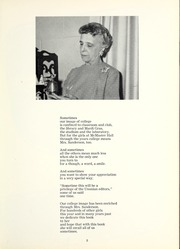 Page 9, 1961 Edition, Mount Union College - Unonian Yearbook (Alliance, OH) online yearbook collection
