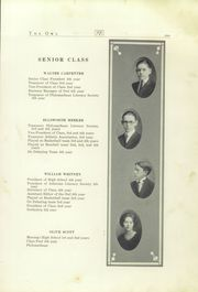 Page 11, 1922 Edition, Sunbury School - Owl Yearbook (Sunbury, OH) online yearbook collection