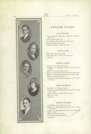 Page 12, 1922 Edition, Sunbury School - Owl Yearbook (Sunbury, OH) online yearbook collection