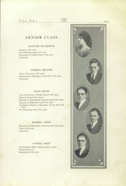 Page 13, 1922 Edition, Sunbury School - Owl Yearbook (Sunbury, OH) online yearbook collection