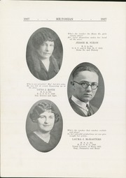 Page 16, 1927 Edition, Milton Township High School - Miltonian Yearbook (Milton Center, OH) online yearbook collection