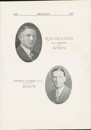 Page 17, 1927 Edition, Milton Township High School - Miltonian Yearbook (Milton Center, OH) online yearbook collection