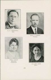 Page 11, 1932 Edition, Mount Vernon Academy - Treasure Chest Yearbook (Mount Vernon, OH) online yearbook collection