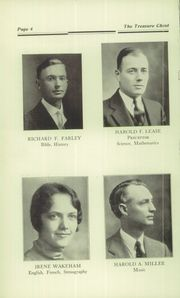 Page 10, 1935 Edition, Mount Vernon Academy - Treasure Chest Yearbook (Mount Vernon, OH) online yearbook collection