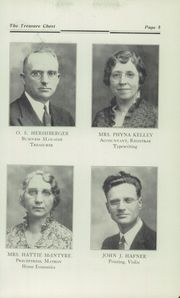 Page 11, 1935 Edition, Mount Vernon Academy - Treasure Chest Yearbook (Mount Vernon, OH) online yearbook collection